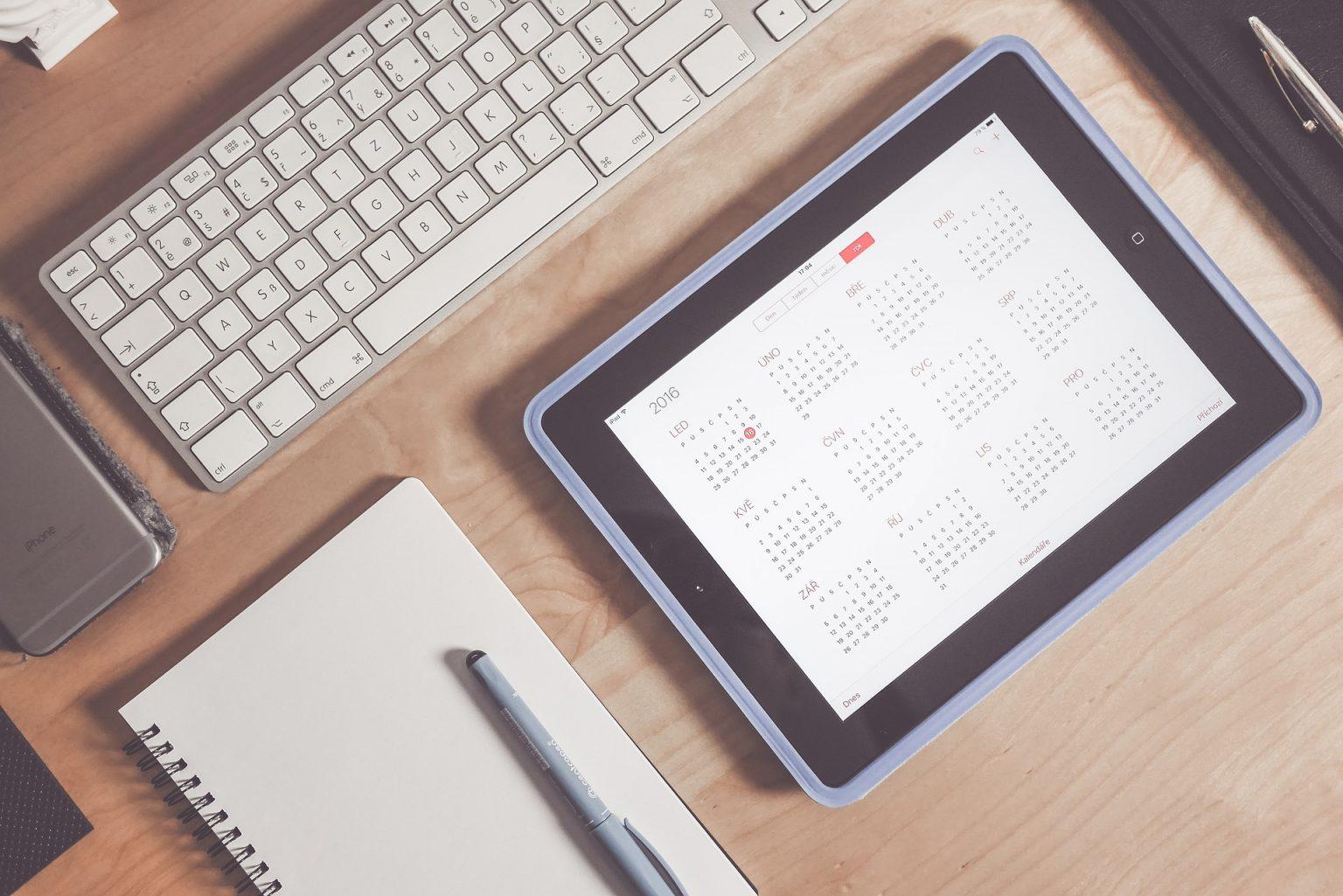 apple calendario